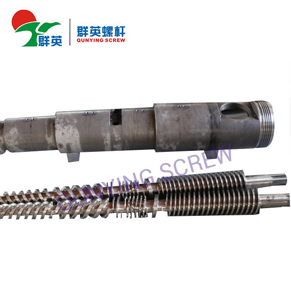 High Quality Conical Twin Screw Barrel For Plastic Extruder