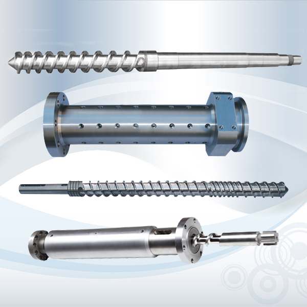 Rubber Screw Barrel