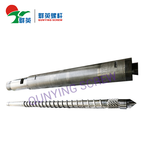 Injection Molding Machine Screw Barrel/Haitian Injection Machine Screw/Nitride Screw Barrel For Haitian