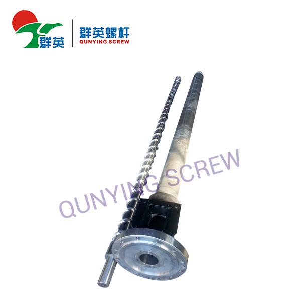 Plastic Filament Extruding Machine Bimetallic Screw Barrel