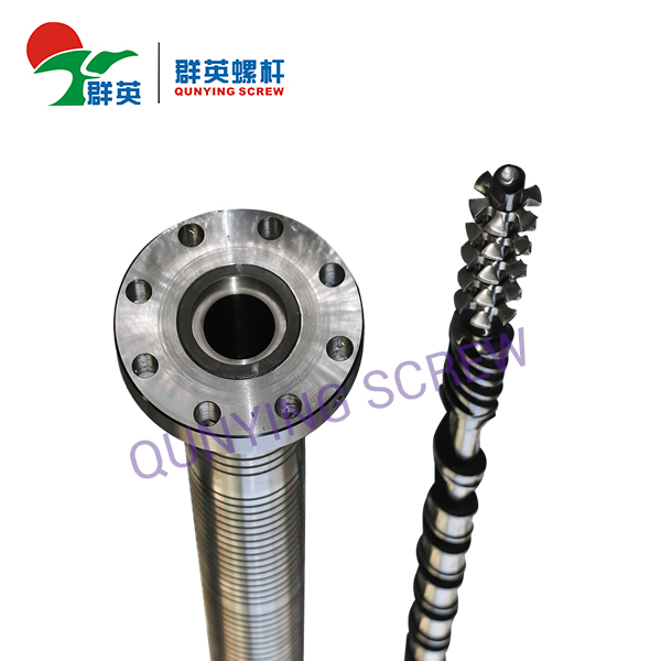 Bimetallic Screw Barrel For Plastic Extruder Machine