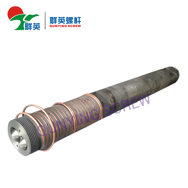 Extruder Bimetallic Parallel Twin Screw Cylinder / Barrel For PP Granule