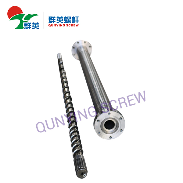 What is the method of repairing the extruder barrel