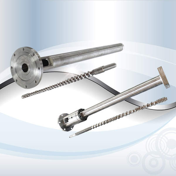 Protection method of twin screw barrel screw