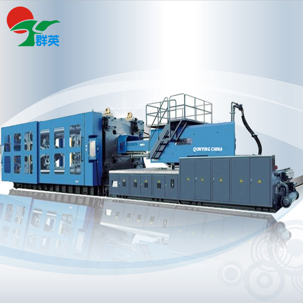 Injection molding machine head overflow solution