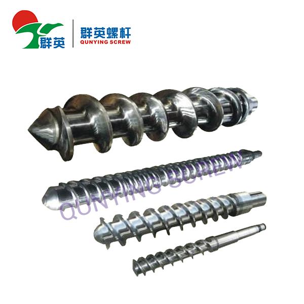 Method for repairing extruder screw and barrel