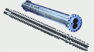 Parallel twin-screw extruder is widely used in the filling